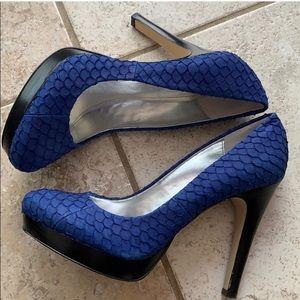 Calvin Klein Kendal Scallop Heels